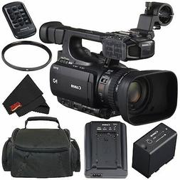 Canon XF100 Professional Camcorder 10x HD Video lens, Compac