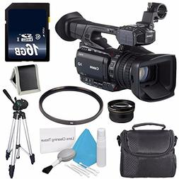 Canon XF200 HD Camcorder  + 58mm 2x Telephoto Lens + 58mm UV