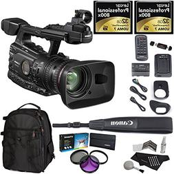 Canon XF300 High Definition Professional Camcorder, Lexar 32