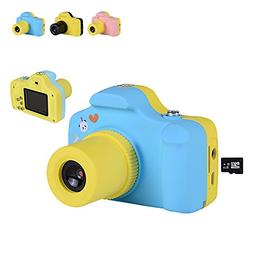 Children Digital Camera Mini 1.5 Inch Screen for Kids 21 Meg