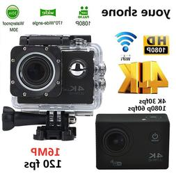 clearance portable action camera sport camera 4k