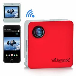 SereneLife Clip-on Wearable Camera 1080p Full HD with Built-