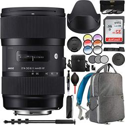 Sigma 18-35mm f1.8 DC HSM Art Lens for Sony Alpha A Mount AP