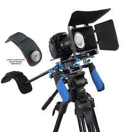 SunSmart DSLR Rig Movie Kit Shoulder Mount Rig with Matte Bo