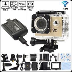 DITONG DT71 4K Ultra HD Action Camera Wifi 1080P 60fps 16MP/