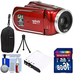 Vivitar DVR 960HD 1080p HD 12x Optical Zoom Video Camera Cam