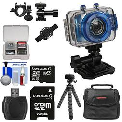 Vivitar DVR785HD Waterproof Action Video Camera Camcorder  w