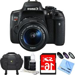 Canon EOS Rebel T6i Digital SLR Camera With EF-S 18-55mm IS