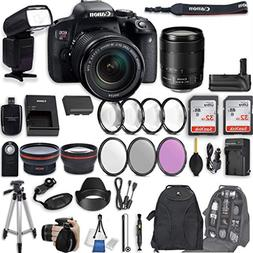 Canon EOS Rebel T7i DSLR Camera with EF-S 18-135mm f/3.5-5.6