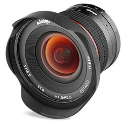Opteka 12mm f/2.8 HD MC Manual Focus Wide Angle Lens for Can