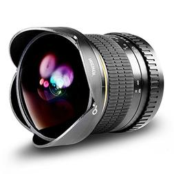 Neewer Pro 8mm f/3.5 Aspherical HD Fisheye Lens for Nikon DS