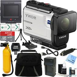 Sony FDR-X3000R 4K Action Camera w/ Live View Remote + 32GB
