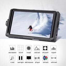 Feelword 5Inch 9201080 IPS Screen Camera Field Monitor with