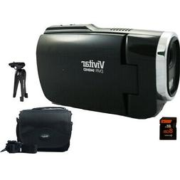 Vivitar Full HD Digital Camcorder DVR949-Black w/ Gadget Bag