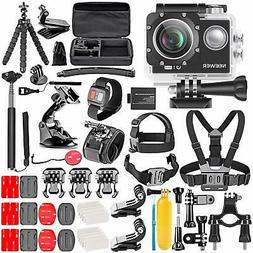 Neewer G1 Ultra HD 4K Action Camera Kit Includes 98 ft Under