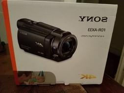 Sony Handycam FDR-AX33 Wi-Fi 4K Ultra HD Video Camcorder Bra