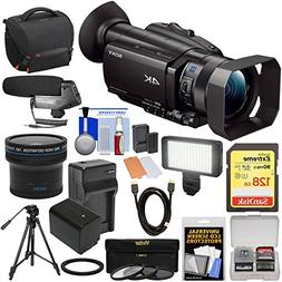 Sony Handycam FDR-AX700 4K HD Video Camera Camcorder with 12
