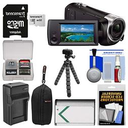 Bundle Handycam HDR-CX405 1080p HD Video Camera Camcorder wi