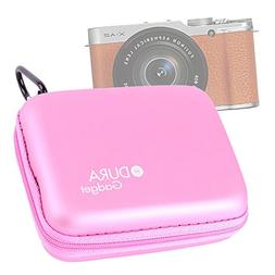 DURAGADGET Premium Quality Hard 'Shell' EVA Case in Pink wit