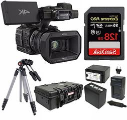 Panasonic HC-X1000 4K 24p Cinema Camcorder w/ 128GB SD & Pel