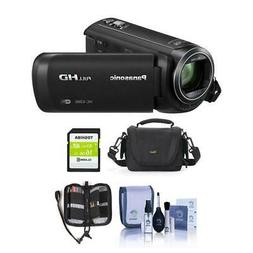 Panasonic HC-V380K Full HD Camcorder with Wi-Fi - Free Acces
