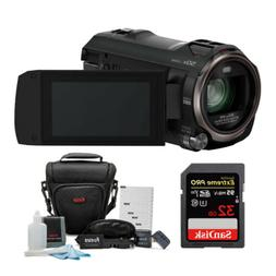 Panasonic HC-V770 HD Camcorder w/SanDisk 32GB SD Card & Focu
