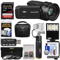 Panasonic HC-VX1 Wi-Fi 4K Ultra HD Video Camera Camcorder wi