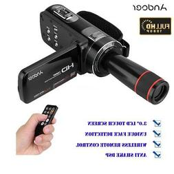 "Andoer HD 1080P 24MP 16X ZOOM 3"" Touch Screen Digital Video"