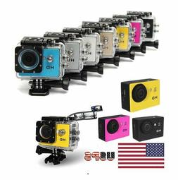 HD 1080P Camcorder Sports Full DV Car Action Waterproof for