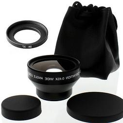 Albinar HD 28mm Wide Angle Lens with Macro for Nikon COOLPIX