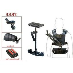 SHOOTVILLA HD-5000 Handheld Video Stabilizer with arm and ve