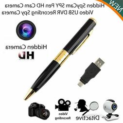 HD Camcorder Pen Mini DVR Camera/Video/Sound Recorder Spycam