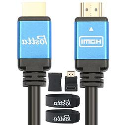 HDMI Cable 30 Feet Postta Ultra HDMI 2.0V Cable with 2 Piece