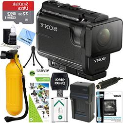 Sony HDR-AS50/B Full HD Action Cam + Outdoor Action Kit & Me
