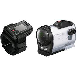 Sony HDR-AZ1VR Waterproof Action Cam Mini with RM-LVR2V Live