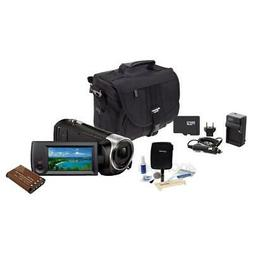 Sony HDR-CX405 Full HD 60p Camcorder, 2.3MP Sensor, w/Upgrad