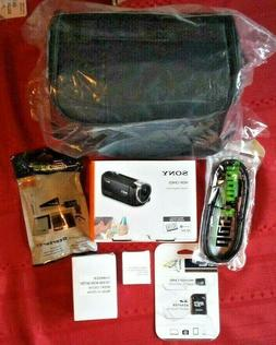 Sony HDR-CX405 HD Handycam Camcorder PLUS Accessory kit - BR