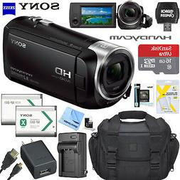 Sony HDR-CX405 HD Video Handycam Camcorder Memory Card Batte
