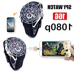 Hidden Camera Watch, HD 1080P Spy Camera Smart Wrist Watch w