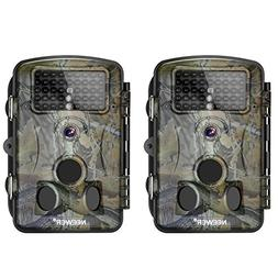 Neewer 2-Pack Hunting Trail Camera Infrared Night Vision, 10