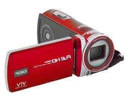 Polaroid ID975-RED16MP Camcorder with 3-Inch LCD Touch Scree