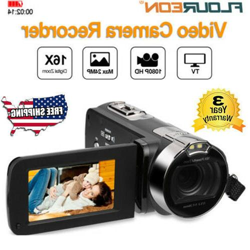 1080p digital video camera 3 0 tft