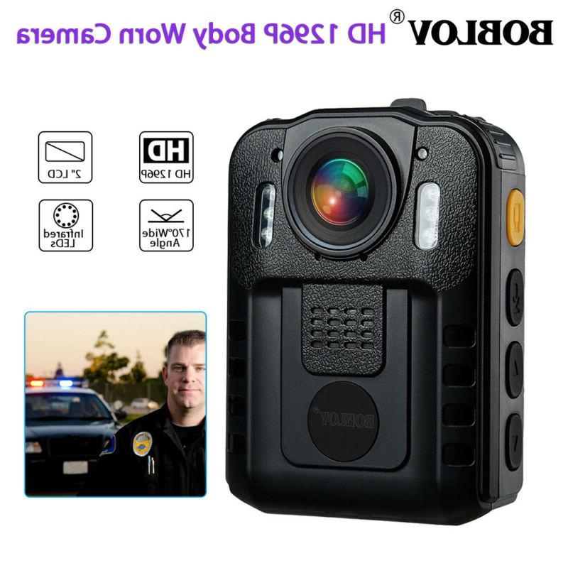 HD1296P Body Personal Security Police Camera Night Vision 17