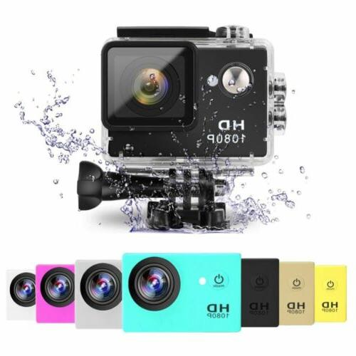 2inch Untra HD 1080P Sports Action Camera 30M Diving Waterpr