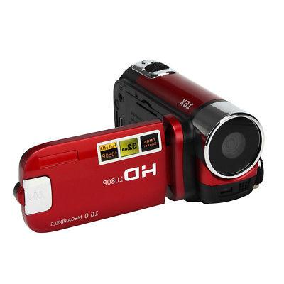 "2.7"" Full 1080P Digital Video DV Camcorder 32GB"