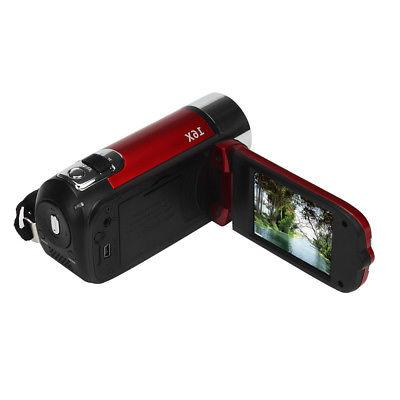 "2.7"" Full HD Digital Video DV 16MP 16X 32GB SD/SDHC"