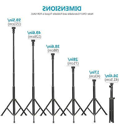 Neewer 2-in-1 Extendable Stick Monopod and Tripod Stand iPhone