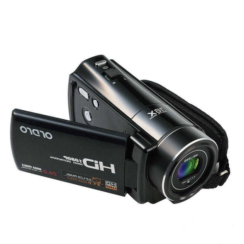 FULL HD 24MP Vision Camera Camcorder