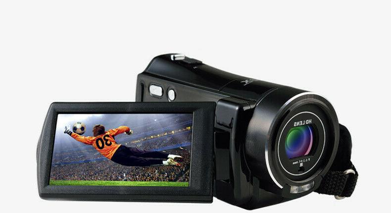 FULL HD 24MP LCD 18X Vision Video DV Camera
