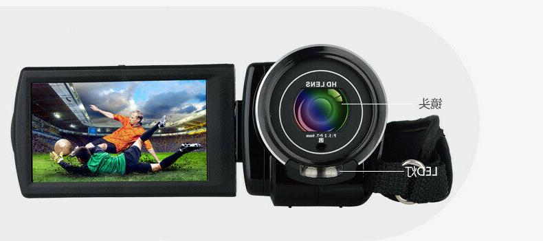 FULL HD LCD 18X Vision DV Camera Camcorder